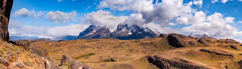 Paine Grande Hill Torres Del Paine