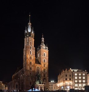 St. Mary's Church Krakow Poland