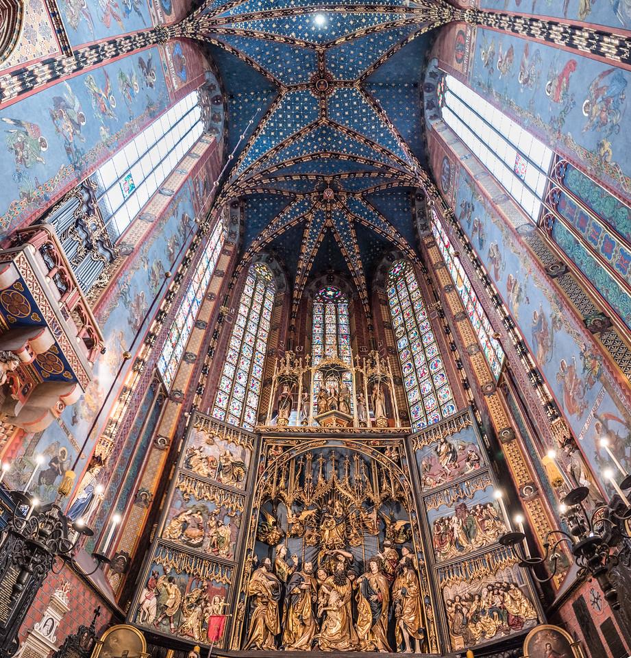 St. Mary's Church Krakow Poland