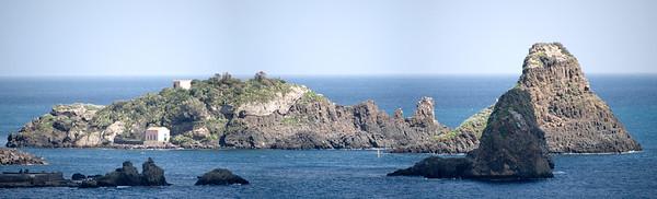 Isola lachea off Aci Castello