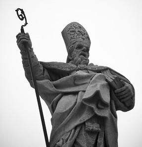 Statue on Il Duomo
