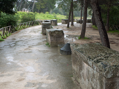 Stone Coffins In the Archaelogical Park