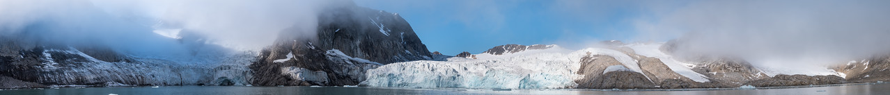 Fugelsongen Glaciers