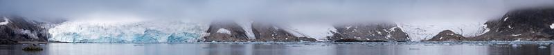 Five Fugelsongen Glaciers