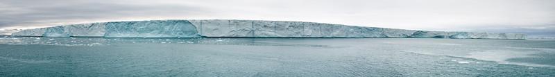 Twin Falls on Nordaustlandet Glacier Brasvellbreen Arm