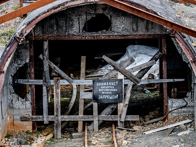 Coal Mining Entrance