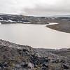 Above Femmilsjeen Lake, Svalbard 500 Feet