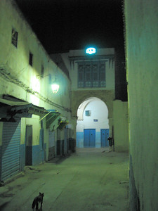 Alley to Essouraya Tunis