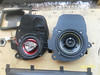 """Comparison: <br> Left: Old aftermarket speaker and factory pod <br> Right: New aftermarket speaker and speaker adapter plate  from  <a href=""""http://www.car-speaker-adapters.com/items.php?id=SAK090""""> Car-Speaker-Adapters.com</a>"""