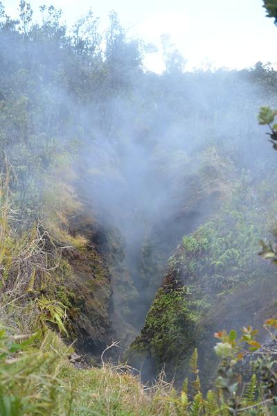Steam-emitting Vent on Kilauea