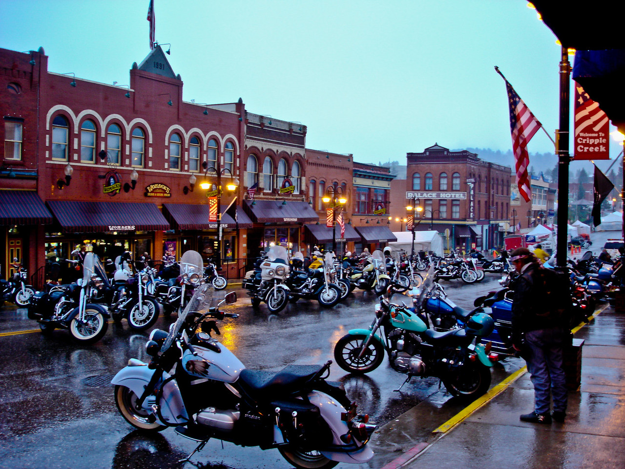 Cripple Creek Veterans Rally Aug-2004