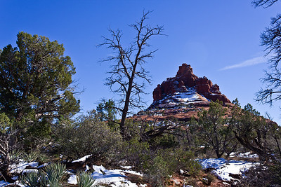 Sedona - Bell Rock w/Snow