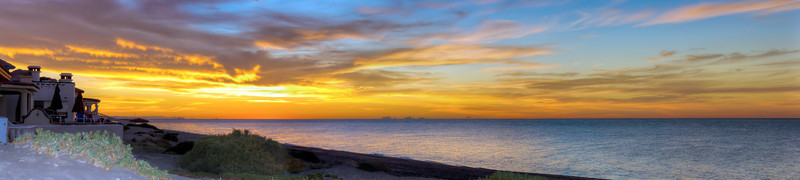 Sunrise On The Playa - Puerto Penasco, Mexico