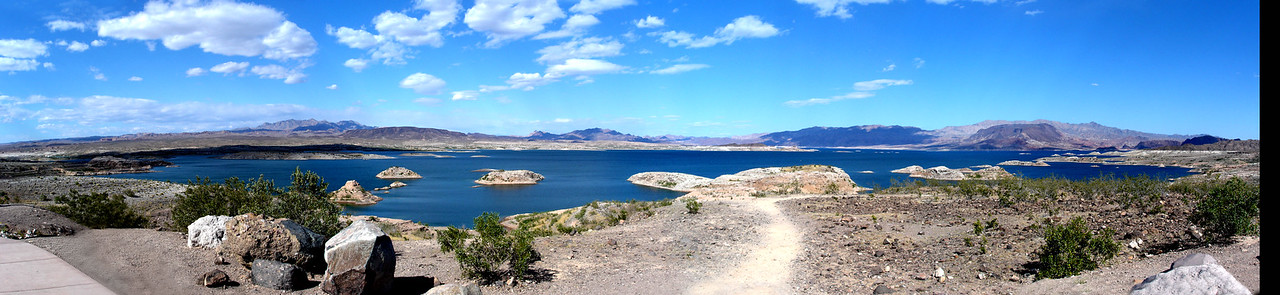 Lake Mead - Very dry  - Could some of us up in Colorado put some of that beer we like so well back into the water supply, PLEASE!