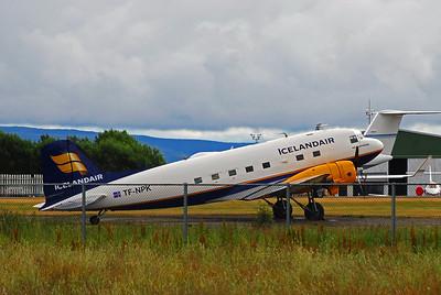 Pâll Sveinsson, Douglas C-47A