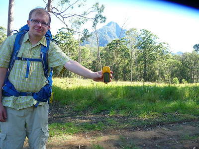 Mount Barney earth cache, question 2.