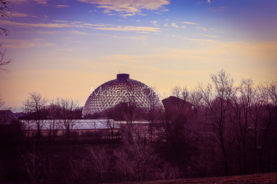 Desert dome at Henry Doorly Zoo Omaha Nebraska