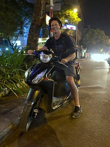 Motor scootering in Ho Chi Minh City (Saigon)
