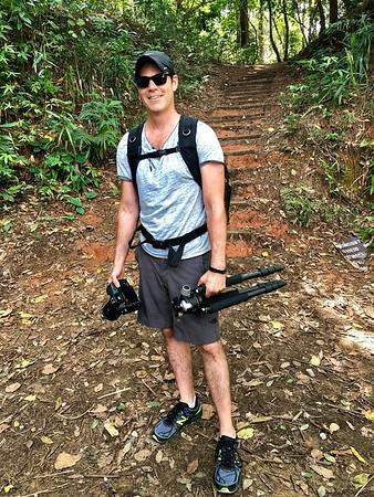 Entering Pha Dok Sieo Thailand