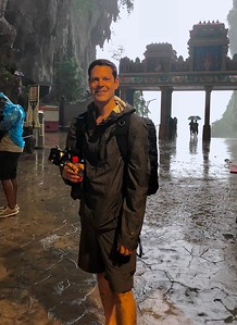 Caught in a Malaysian Monsoon (Batu Caves)