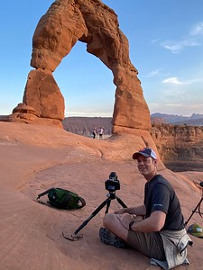 Sunset & Astro at Delicate Arch || Arches national Park