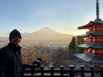 At Chureito Pagoda