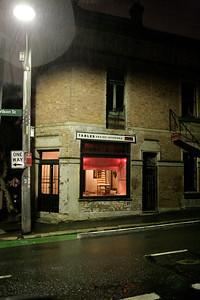 GWP. Newtown at night