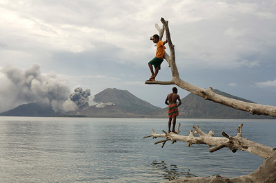 Rabaul, East New Britain, PNG