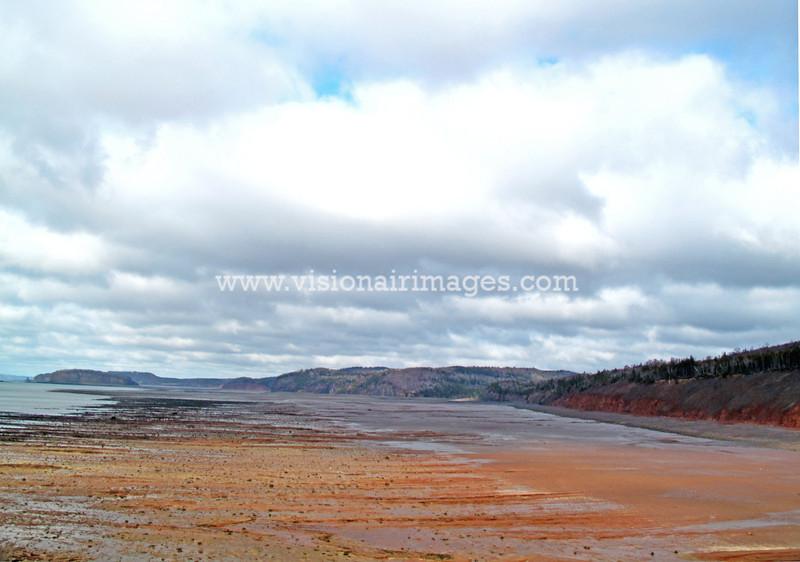 Moose River, Coastal, Low Tide, Bay of Fundy, Nova Scotia, Canada