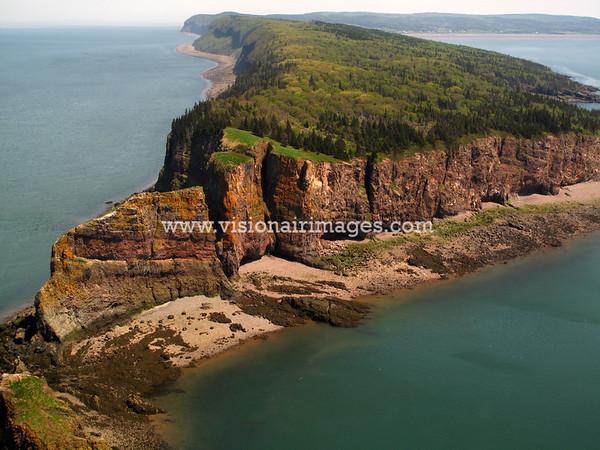 Cape Split, Scots Bay, Minas Channel, Nova Scotia, Canada, Spring 2011