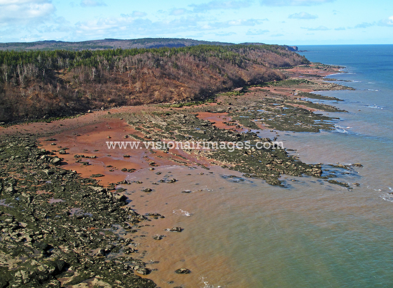 Squally Point, Cape Chigecto, Bay of Fundy, Nova Scotia, Canada