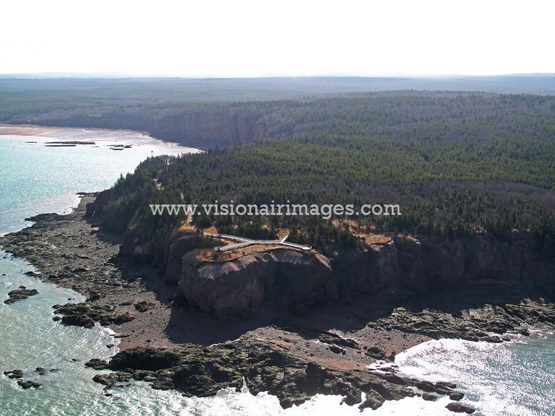 Squally Point, Cape Chigecto, Bay of Fundy, Nova Scotia, Canada