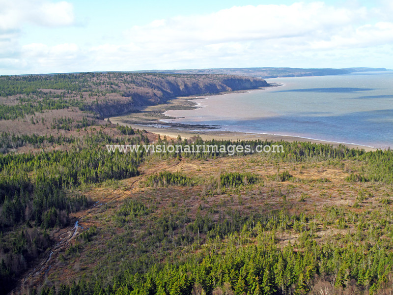 Chignecto Bay, Bay of Fundy, Nova Scotia, Canada