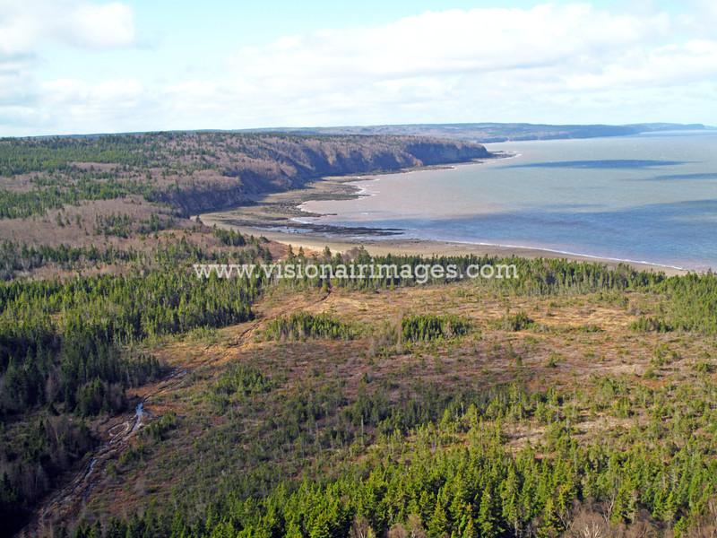 Chignecto Bay, Bay of Fundy, Nova Scotia, Canada
