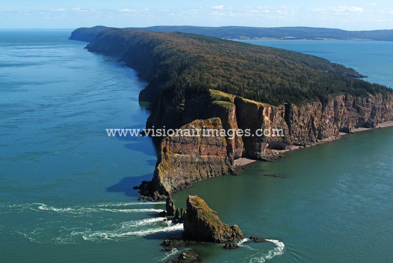 Cape Split, Scots Bay, Bay of Fundy, Nova Scotia, Canada