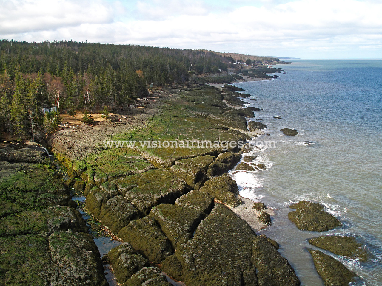 Scots Bay to Baxters Harbour, Bay of Fundy,  Nova Scotia, Canada