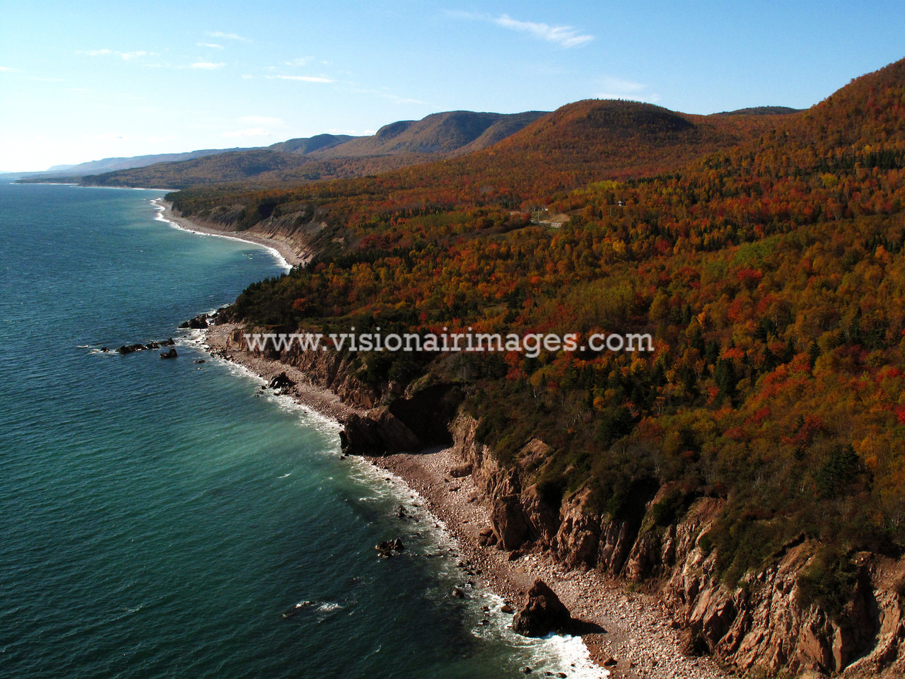 Cape Smokey, Coastal Beaches, Cliffs, Cape Breton Island, Nova Scotia, Canada