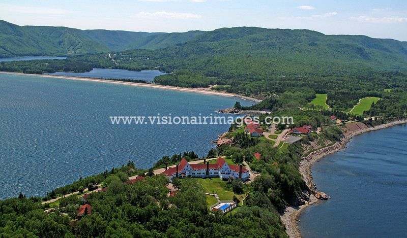 Cape Breton Highlands National Park, Cabot Trail, Ingonish Beach, Keltic Lodge, Nova Scotia, Canada