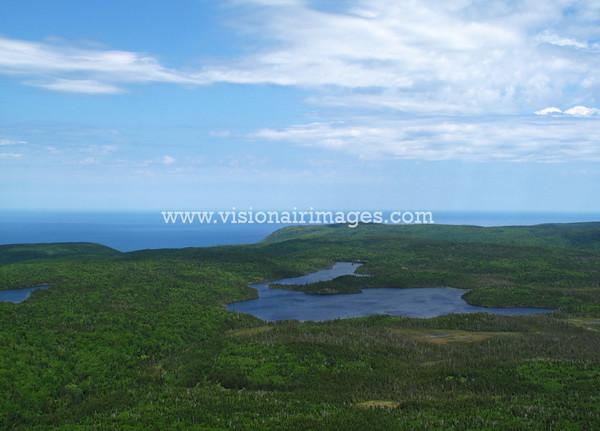 Cape Breton Highlands, Above Cheticamp, North Shore Cape Breton Island, Nova Scotia, Canada