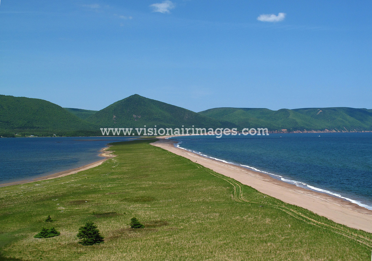 Cape Breton Highlands, Aspy Bay, Aspy Fault,, Nova Scotia, Canada