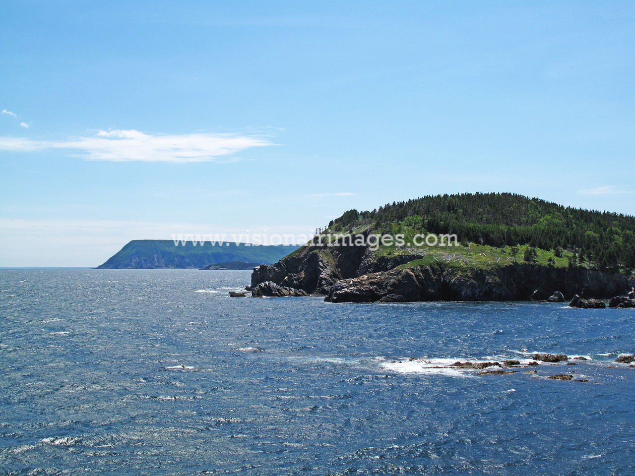 Cape Breton Highlands National Park, Cape Smokey, North/ South Ingonish Bays, Cabot Trail, Ingonish Beach, Nova Scotia, Canada