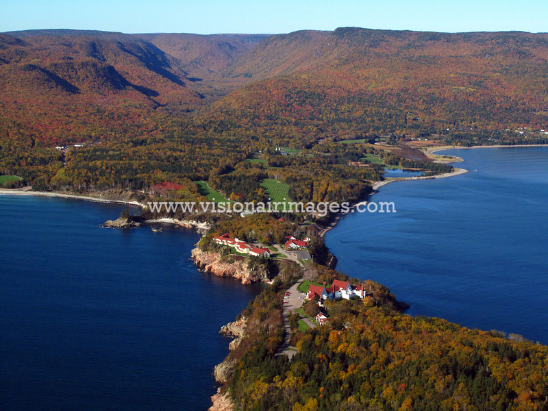 Celtic Lodge, Ingonish, Golf Course, Parks Canada, Cabot Trail, Cape Breton Highlands National Park, Nova Scotia, Canada