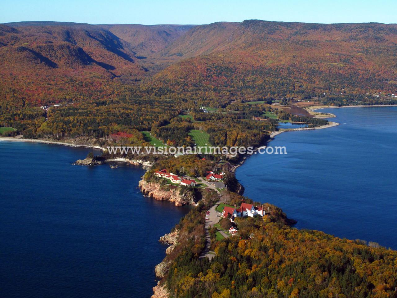 Celtic Lodge, Ingonish, Golf Course, Parks Canada, Cabot Trail, Cape Breton Highlands National Park, Nova Scotia, Canada