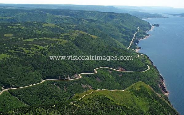 Cape Breton Highlands National Park, Cabot Trail, Cheticamp, Nova Scotia, Canada