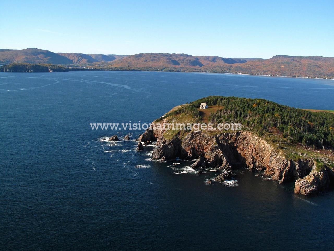Ingonish Aerial, Cape Breton, Nova Scotia, Canada