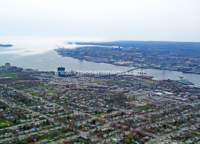 Dartmouth, Halifax Harbour, Fog, Nova Scotia, Canada