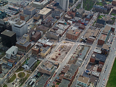 Brunswick Street Aerial, Halifax, Nova Scotia, Canada