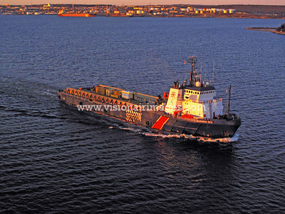 Halifax, Nova Scotia, Canada, Mariner Sea Supply Vessel