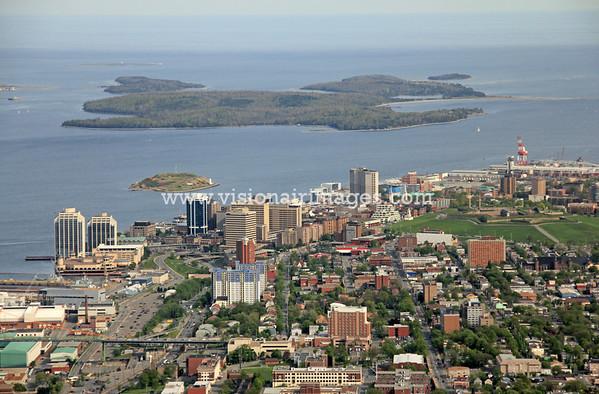 Halifax FromNorthEnd Aerial