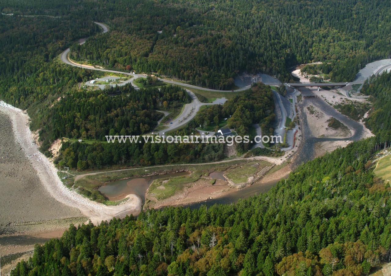 Near Fundy National Park, Aerial, Fundy Shore, Saint John, New Brunswick, Canada